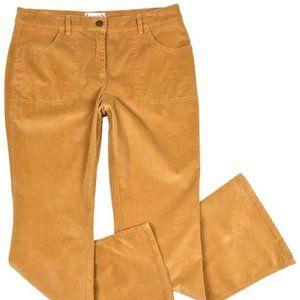 NWT Tan Cord Flare Leg Jeans By Nanette-12